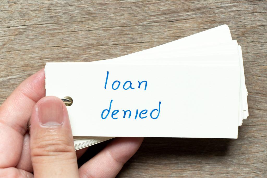 underwriter just denied fha mortgage